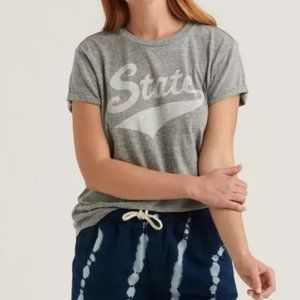 Lucky Brand Cozy Gray State T-shirt Top